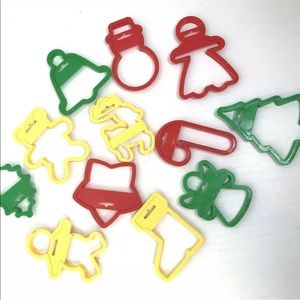 Other - Large Christmas Cookie Cutters Holiday Baking